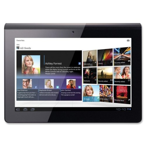 Sony SGPT111US/S Tablet Computer - NVIDIA Tegra 2 250 1GHz - 9.4 WXGA Display - 1GB DDR2 SDRAM - NVIDIA ULP GeForce - Wi-Fi: Yes - Bluetooth: Yes - Webcam: Yes - Android