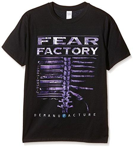 Plastic Head Fear Factory Demanfacture  TSFB-T-shirt  Uomo    nero Medium
