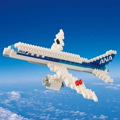 nanoblock ANAジェット Jet Aircraft ANA model 【 ANAオリジナル 】 ナノブロック