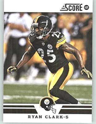 2012 Score Football Card #196 Ryan Clark - Pittsburgh Steelers (NFL Trading Card)