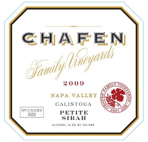 2009 Chafen Family Vineyards Petite Sirah 750 Ml