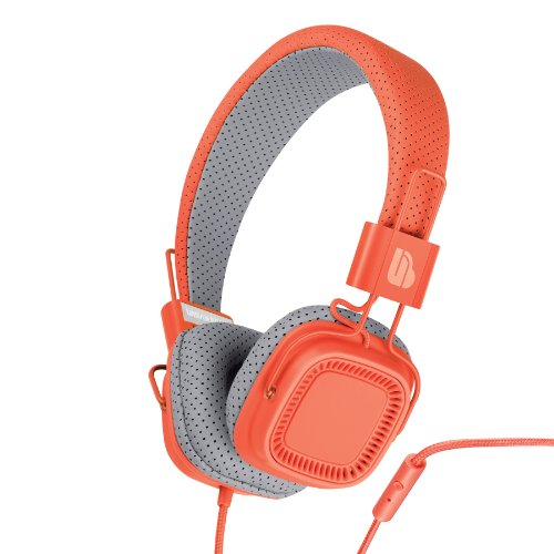 Urban Beatz Verse Headphone With Mic - Tangerine Tango (M-Hm835)