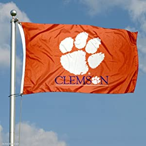 Buy Clemson Tigers Double-Sided 3x5 Flag by College Flags and Banners Co.