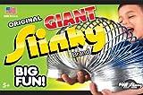 POOF-Slinky - Metal Original Giant Slinky in Box, Silver, 140BL