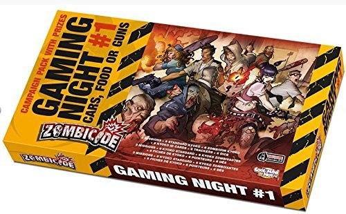 Zombicide: Gaming Night #1 Cars, Food or Guns