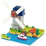 Nanoblock Windmill Building Set