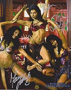Star Trek Orion Slave Girls cast of 3 #2 Original 8X10 Autographed Photo