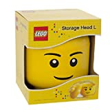 LEGO Boy Head Storage Container, Large
