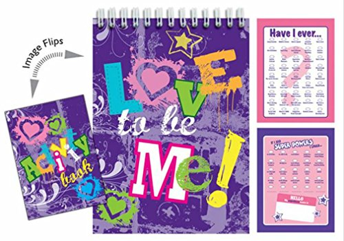 iscream Love to Be Me 96-page Activity Book with Picture Changing Cover