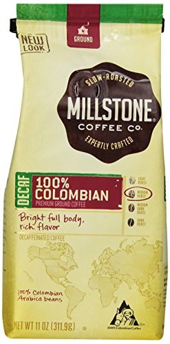 Millstone 100% Colombian Decaf Ground Coffee, 11-Ounce Packages (Pack Of 2)
