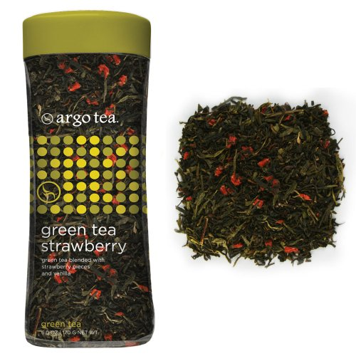 Green Tea Strawberry Loose Leaf Tea - 6Oz