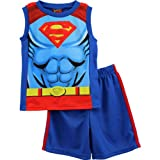 Superman Toddler Blue Top Shorts Set 3WB2835A (3T)