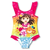 Nickelodeon Dora The Explorer Little Girl One Piece Swimsuit Size 5T