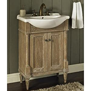 fairmont designs 142 v26 rustic chic 26 inch vanity and
