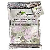 Aranyam Herbal Colour And Nourish Hair Pack, Soft Black, 80gm