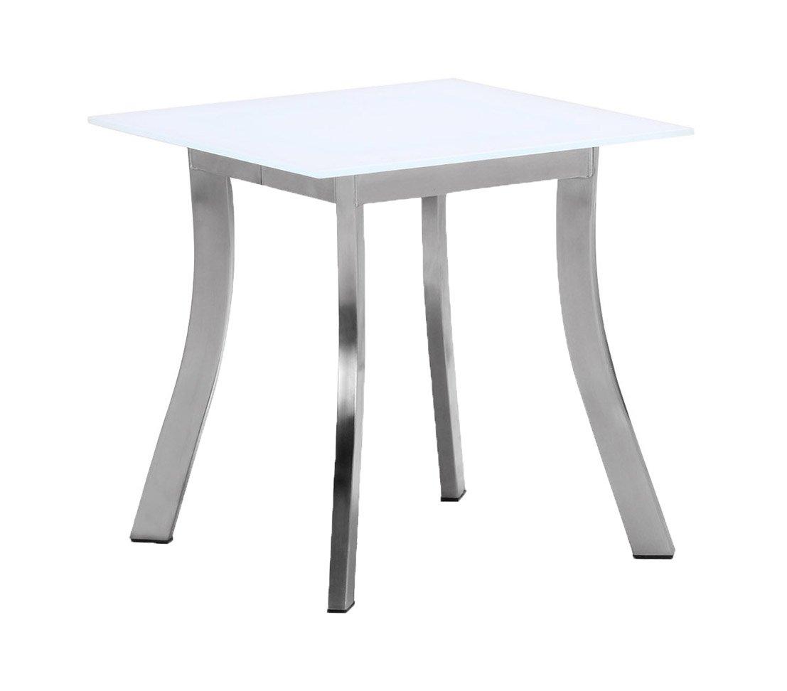 Dehner Living Beistelltisch Elodie, ca. 45 x 45 x 45 cm, weiß kaufen