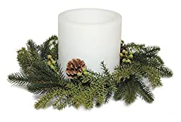 Pine Candle Ring 14\