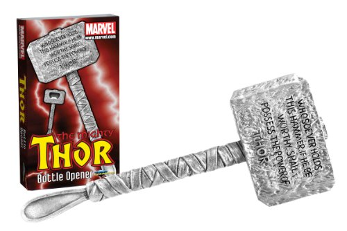 Diamond Select Toys Marvel Thor'S Hammer Sculpted Bottle Opener