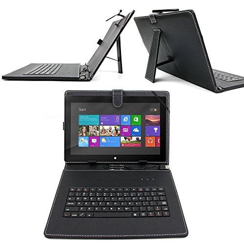 【USB】マイクロソフト Surface Pro 3 (Core i5/Office付き) 単体モデル [Windowsタブレット] MQ2-00015専用タブレットキーボード付ケース&サイズ調整機能付 タブレット (USB 端子)