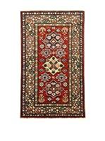 Design Community By Loomier Alfombra Ozbeki Ghazni A (Rojo/Multicolor)