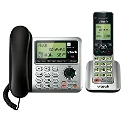 VTech CS6649 Dect_6.0 2-Handset Landline Telephone
