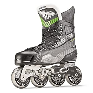 Bauer Mission Inhaler AC7 Inline Roller Hockey Skates - Bauer Hockey by Bauer