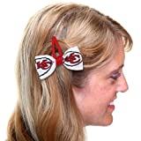 Kansas City Chiefs 2Pack Hair Clippies at Amazon.com