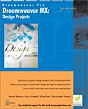 Dreamweaver MX Design Projects