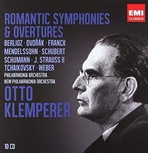 Otto Klemperer : Symphonies et ouvertures romantiques