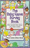 The Baby Name Survey Book (0671023853) by Lansky, Bruce