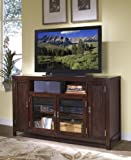 Home Styles Furniture City Chic Plasma,LCD TV Stand in Espresso