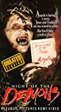 Night of the Demons VHS Tape