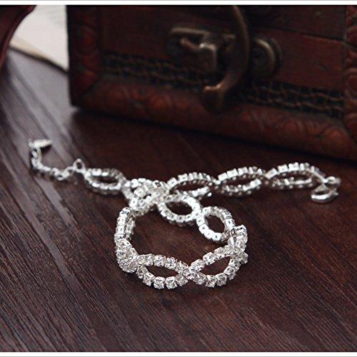 Neoglory jewellery porte bonheur cristal incrust bracelet original pour femmes en coffret - Bijoux porte bonheur pour femme ...