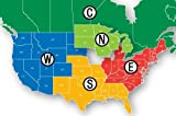 Navionics HotMaps Premium South U.S. Two-Dimensional Lake Maps on SD Card