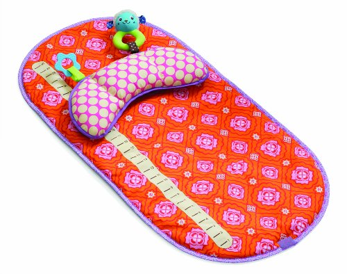 Infantino Tummy Time Mat, Girl front-960500