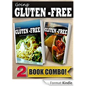 Gluten-Free Italian Recipes and Gluten-Free Mexican Recipes: 2 Book Combo (Going Gluten-Free) (English Edition)