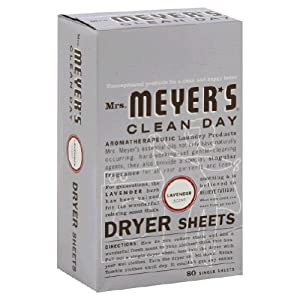 Mrs. Meyers Dryer Sheets