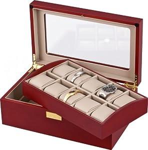 Auer Accessories Leda VS80110C Caja para relojes Bandeja extraíble de Auer Accessories