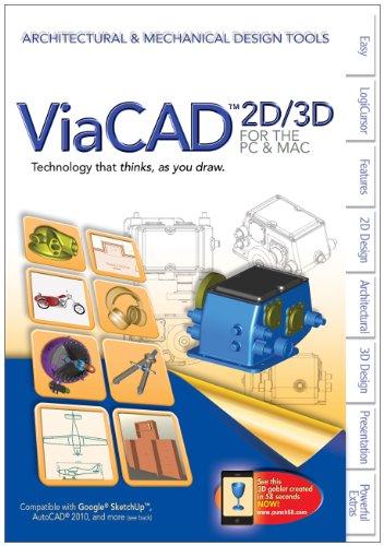 Punch Viacad 2D/3D Version 7, Architectural & Mechanical Design Tools