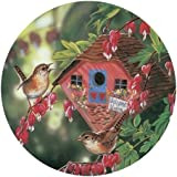 Master Pieces Welcome Wrens Round 500 Piece Jigsaw Puzzle