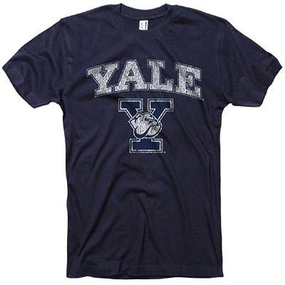 Yale University T-Shirt Vintage Bulldogs Tee, L