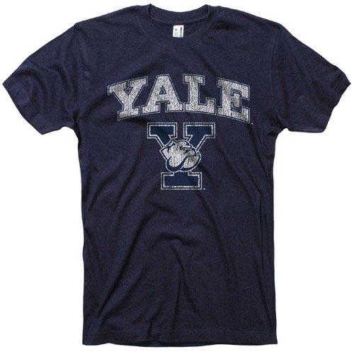 Yale University Official Vintage T-Shirt, L