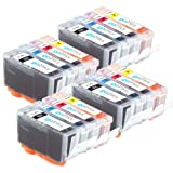 4 Set of 4 Printer Ink Cartridges to replace HP 364 XL for HP Photosmart 4622, 5510, 5515, 6510, 7510, B109a, B109c, B109d, B109f, B109n, B109q, B110a, B110c, B110d, B110e, B8550, B8553, C5380, C5383, C5390, C6300, C6380, CN245B, D5460, D7560, B209, B209