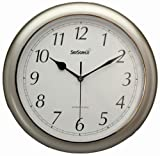 Equity Time 28512 SkyScan Atomic Analogue Clock - Never Needs Setting