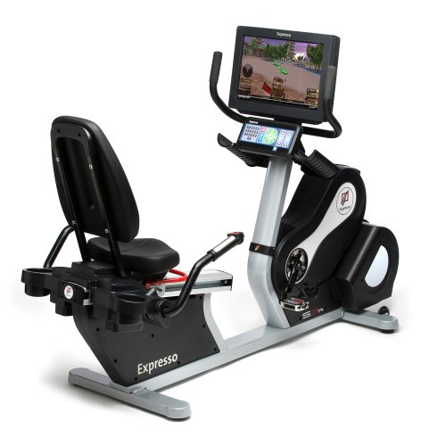 Expresso Interactive Recumbent Exercise Bike - S3R