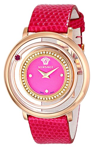 Versace-Womens-VFH150014-Venus-Analog-Display-Quartz-Pink-Watch