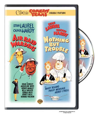 Laurel & Hardy - Air Raid Wardens / Nothing but Trouble