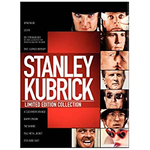 "Save 58% on ""The Stanley Kubrick Collection"" on DVD or Blu-ray"