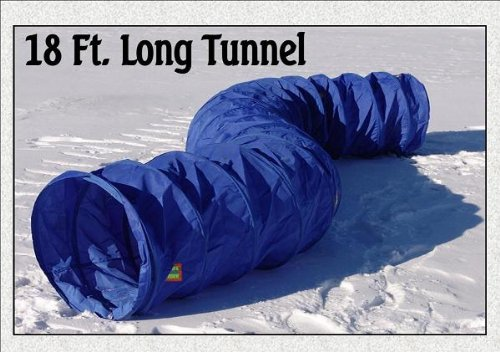 18' Dog Agility Training Tunnel