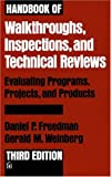cover of Handbook of Walkthroughs, Inspections, and Technical Reviews